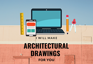 I will produce autocad drawings from your sketches