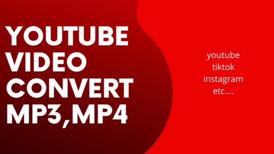 convert your audio and video into any format you want