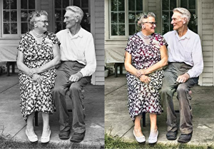 I will colorize, restore & retouch old black and white photos