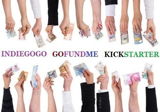 promote indiegogo, gofundme or any crowdfunding campaign to real backers and donors