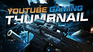 I will design youtube gaming thumbnails for gaming channel