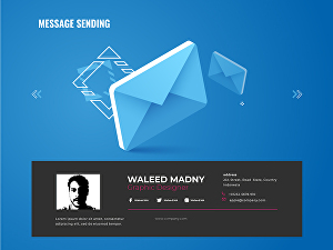 I will Design Professional and Awesome Email Signature or Business Card