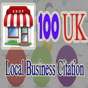 I will do 100 live UK local business citations for local SEO