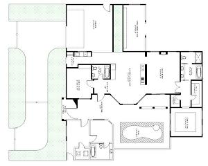 I will redraw your real estate floor plan, house plan, site plan  in AutoCAD