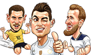 I will design funny cartoon caricature from your photos