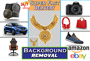 I will do background removal of 15 images for products and jewellery