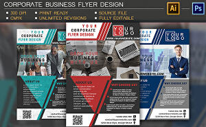 I will Design Professional Print Ready Corporate Business Flyer