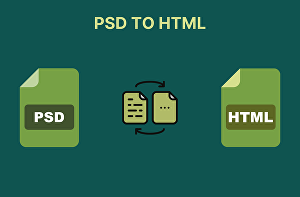 I will convert psd to html,xd to html responsive bootstrap 4