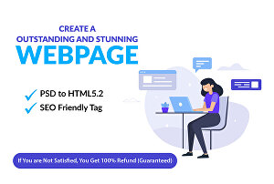 I will Create An Outstanding And Stunning Web page