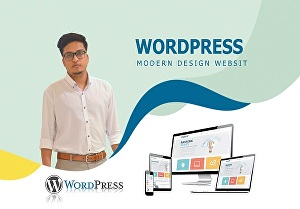 I will design professional business website by WordPress