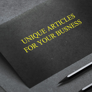 I will create an excellent article for your business