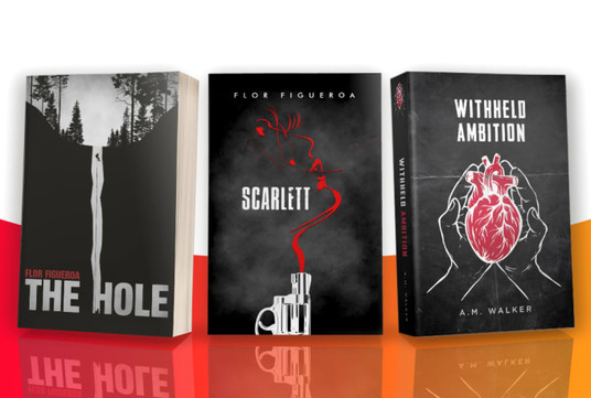create a minimalist cover for your book