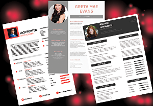 I will create and redesign professional and an eye-catchy resume cv and stationery