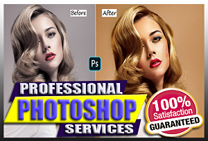 I will do photo retouching or any photoshop works