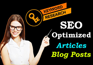 I will Write SEO Article of 1000 Words with High CPC Keywords and Photos