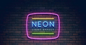 I will design neon logo, signs and glowing text