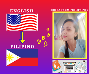I will translate english to filipino or bisaya for 100-200 words