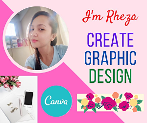 I will design custom graphics using canva