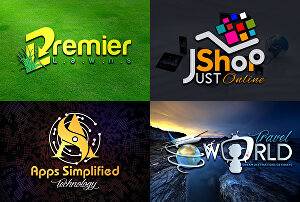 I will do modern creative 3d logo for your business in 24 hours with copyrights