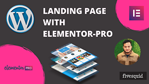 I will make a WordPress landing page using elementor pro or fix any issues