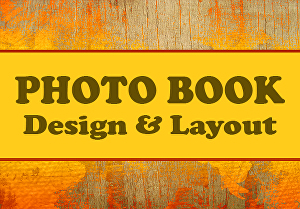 I will create Professional Photo Book Design and Layout