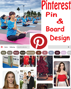 I will create your Pinterest account and design pins and boards