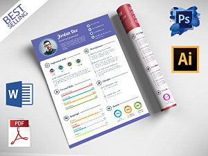 I will design professional or modern custom resume within 24 hours