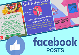 I will create Amazing Facebook posts for your Business or Page