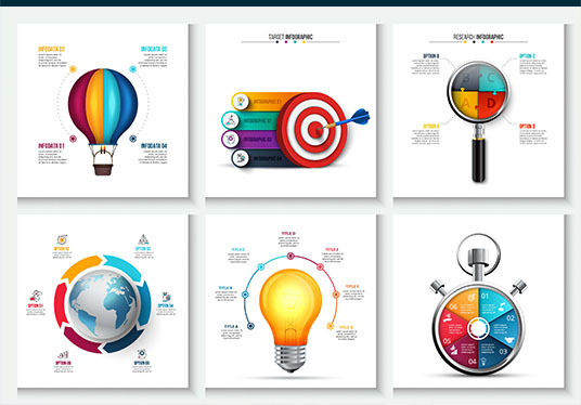 design an  eye catching infographic
