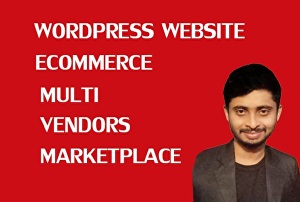 I will build an awesome responsive ecommerce website online store