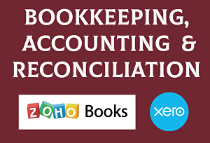 I will do bookkeeping in Xero accounting and Zoho books with reconciliation and financial stateme