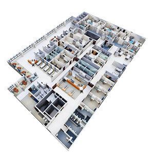 I will Create 10 3D floorplan