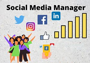 I will be your manager on social media