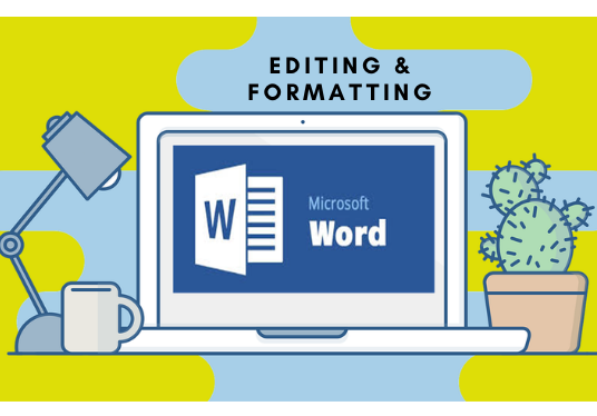 redesign,format and edit your word document