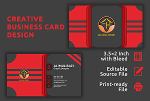I will do professional business card, visiting card, stationary design