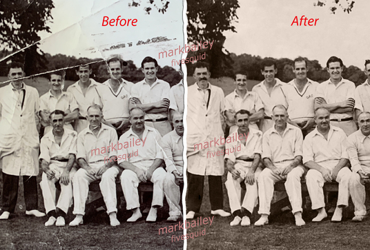 repair or restore your photo with a large amount of damage