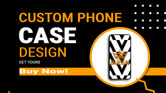 create a unique custom professional design for a mobile phone case