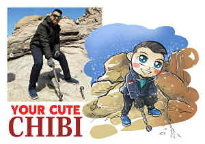 I will create chibi character of you