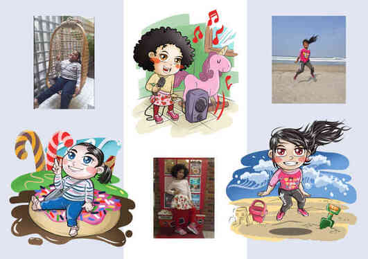 create chibi character of you