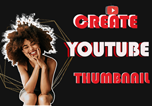 I will create a youtube thumbnail or banner