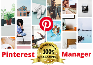 I will setup and create the most attractive Pinterest pin for targeted traffic