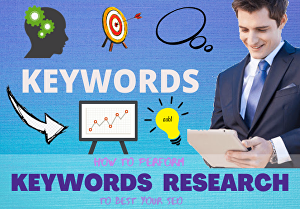 I will do excellent SEO keyword research and competitor analysis to rank your site fast