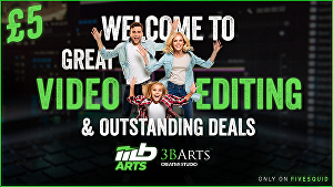 I will provide professional audio and video editing services