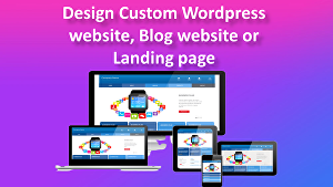 I will create modern WordPress website, Blog website or landing page