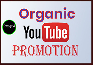 I will do professional and organic top youtube promotion