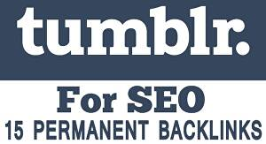 I will Provide You 15 Tumblr PA 70 to 50 PBN Permanent Back links for £10