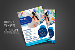 I will design creative business flyer