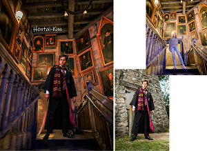 I will turn your photo into harry potter magic theme
