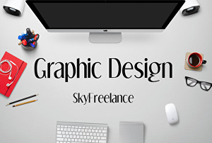 I will be your personal and professional graphic designer