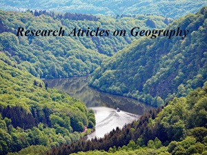 I will produce original and unique research articles on Geography